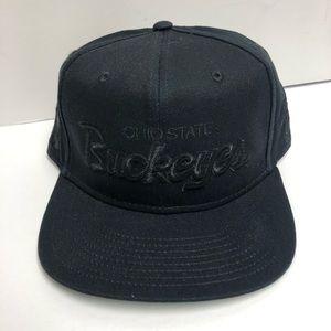 Black Ohio State buckeyes Nike snapback hat